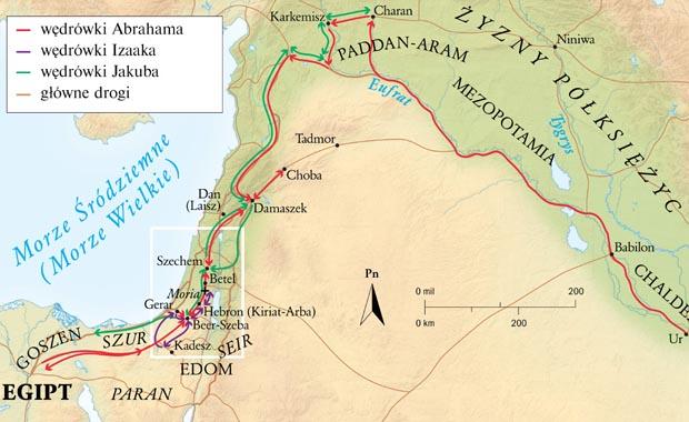 mapa abraham