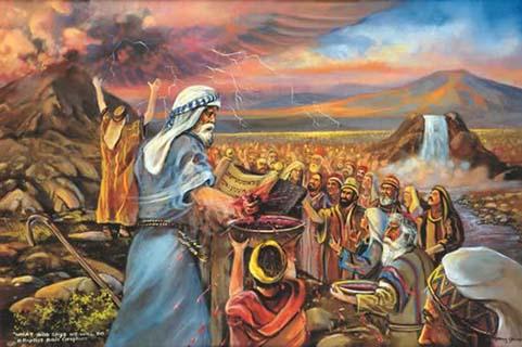 Bóg zawiera przymierze ze swoim ludem