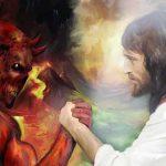 Jezus prowadzi walkę ze złem