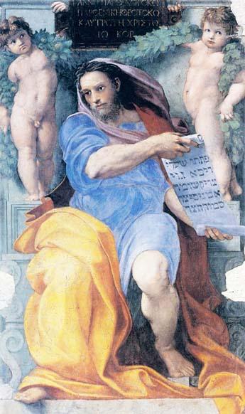 Izajasz głosi wiarę w zbawienie