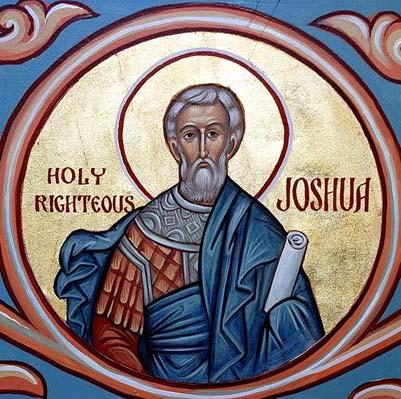 Jozue biblijną zapowiedzią Chrystusa