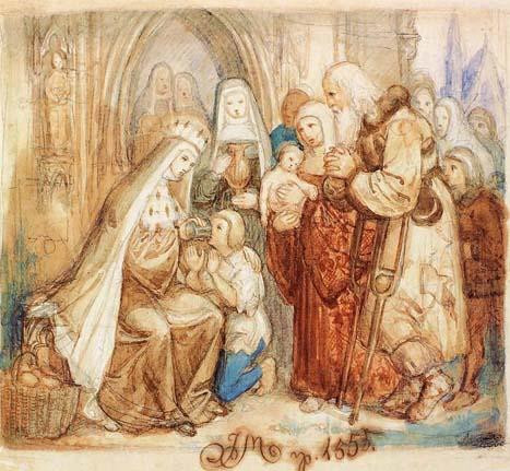 Życiorys – Błogosławiona królowa Jadwiga